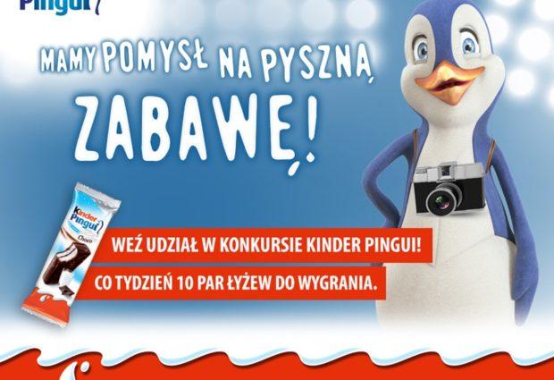 """BAW SIĘ Z """"KINDER PINGUI""""!"""